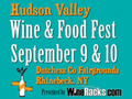 September 9 & 10, 2017 - Hudson VAlley Wine & Food Fest