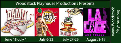 Woodstock Playhouse Summer Theatre 2018