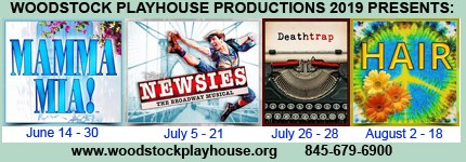 Woodstock Playhouse Productions Summer 2019